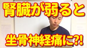 【回答】腎臓が弱ると坐骨神経痛に?!