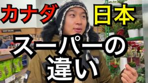 カナダと日本のスーパーの違い
