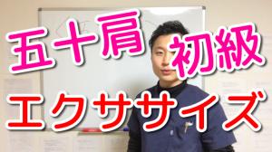 【五十肩】初級エクササイズ